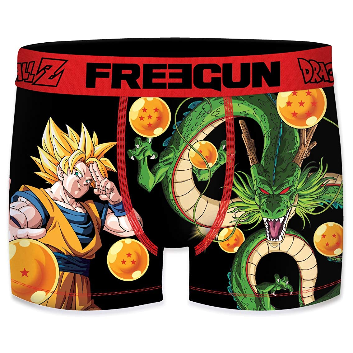 FREEGUN Boxer Homme Dragon Ball Z Goku   Shenron 4a2b28f264d