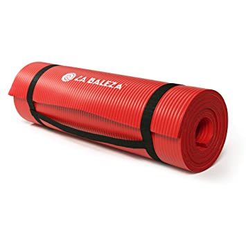 Amazon.com: La Baleza - Esterilla de ejercicio para yoga y ...