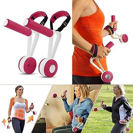 Amazon.com: Yuto Fitness - Mancuernas para caminar, pesas de ...
