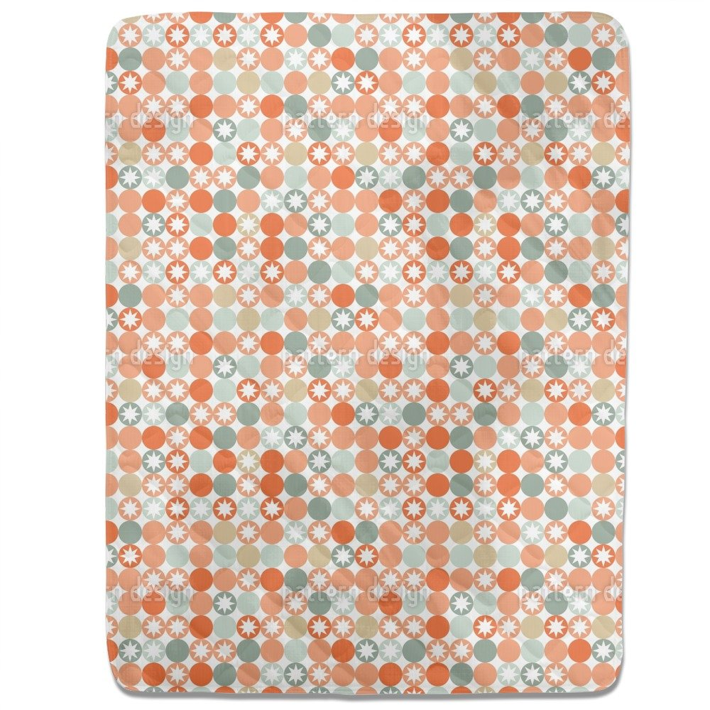 Autumnal Star Bingo Fitted Sheet: King Luxury Microfiber, Soft, Breathable by uneekee