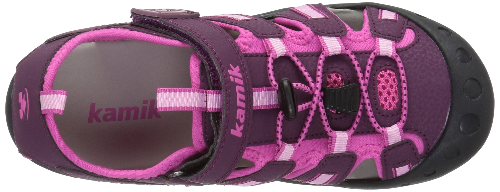Kamik Toddler Crab Sandals Plum 4 by Kamik (Image #7)
