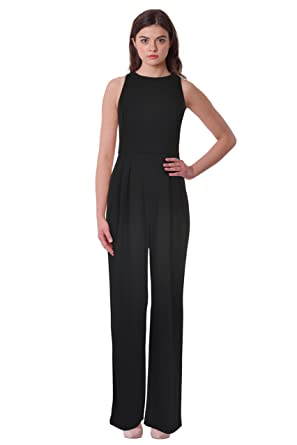 7e57beb12560 Lauren Ralph Lauren Women s Jersey Wide Leg Sleeveless Open Back ...