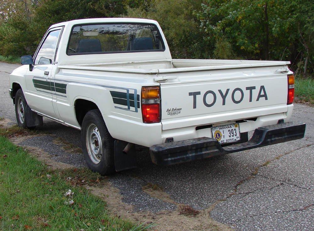 Amazon.com: Toyota Pick Up Truck 1984 1988 Tail Lights Lens Lenses Pair 84  85 86 87 88: Automotive