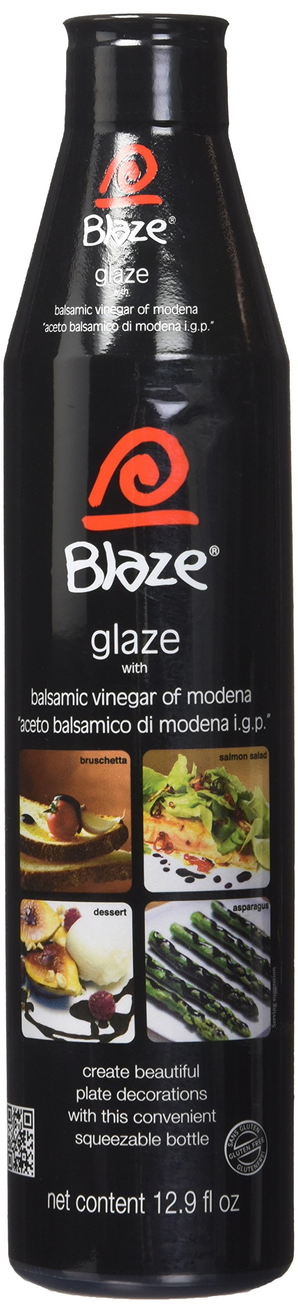 Acetum Blaze Balsamic Glaze 12.9 oz Each (Pack of 2) by Acetum
