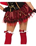 Forum Novelties Women's Little Tutu-Std, Red, Standard