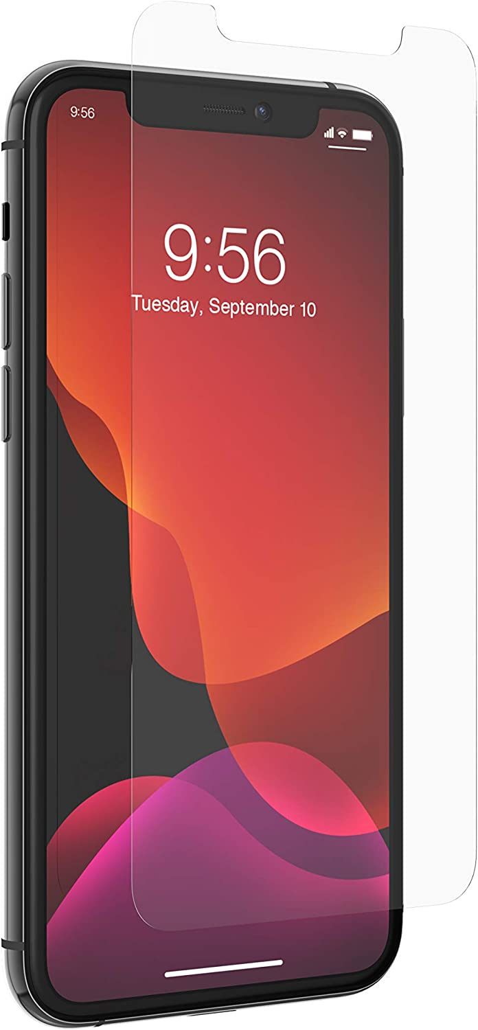 ZAGG InvisibleShield Glass+ Screen Protector – High-definition Tempered Glass Made for Apple Iphone 11 Pro – Impact & Scratch Protection