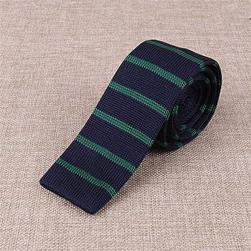 Zjuki corbata Variedad de Hombres Corbata de Punto Corbata Plana ...