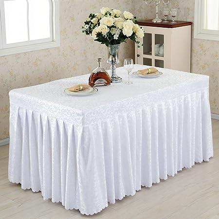 Manteles Cabida de falda de la tabla de banquete de la boda de la ...