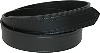 product image for Boston Leather Men's Big & Tall Leather No Scratch Work Belt with Hook and Loop Closure