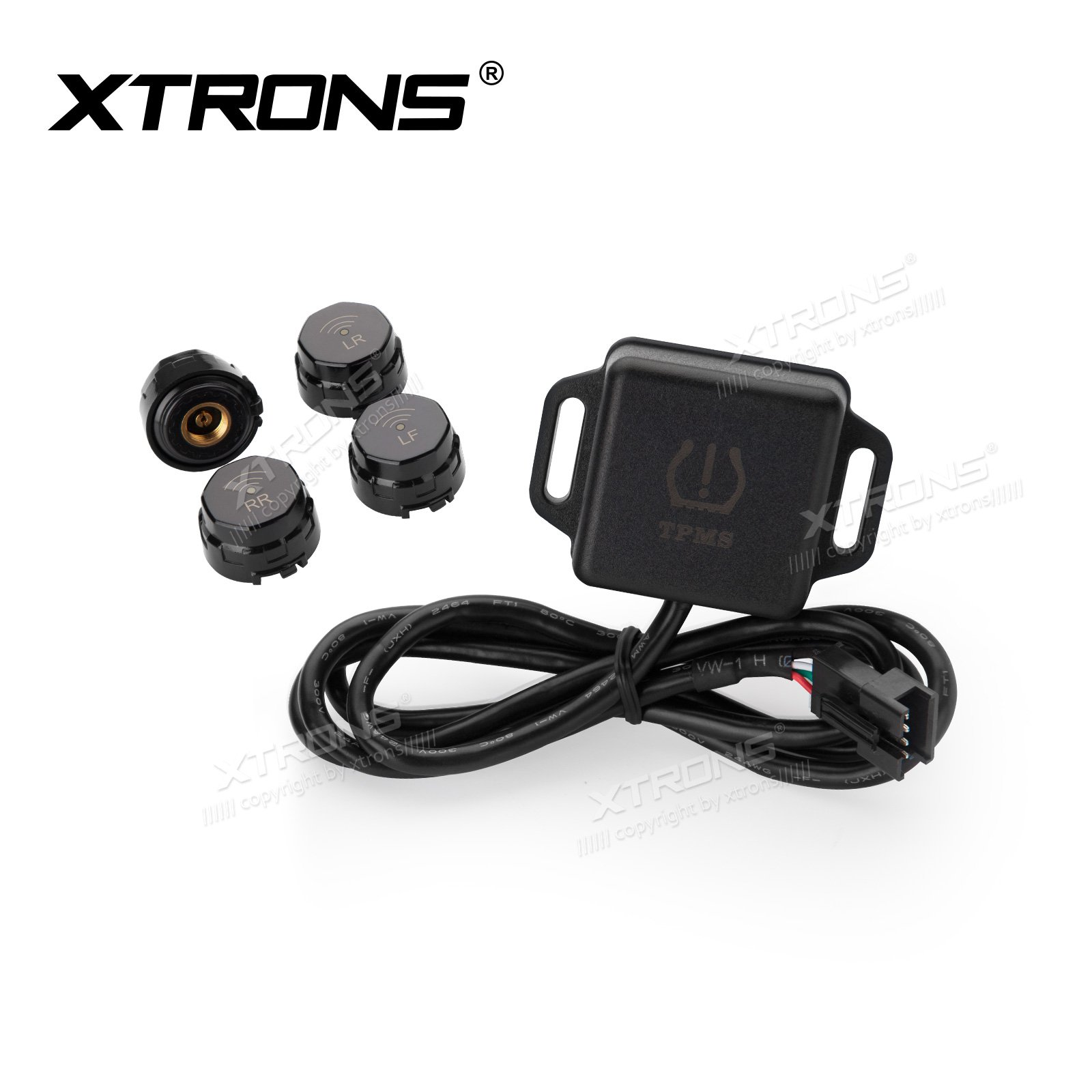 XTRONS Car Auto TPMS Tire Pressure Monitoring System for TA101P Headunit Player