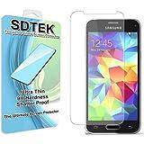 SDTEK Samsung Galaxy S5 Mini Verre Trempé Protecteur d'écran Protection Résistant aux éraflures Glass Screen Protector Vitre Tempered