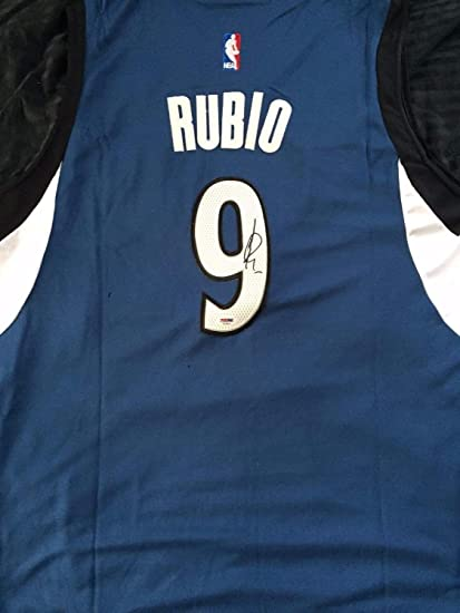 Image Unavailable. Image not available for. Color  Ricky Rubio Autograph  Autographed Signed Minnesota Timberwolves Jersey Memorabilia PSA DNA COA def1cebab