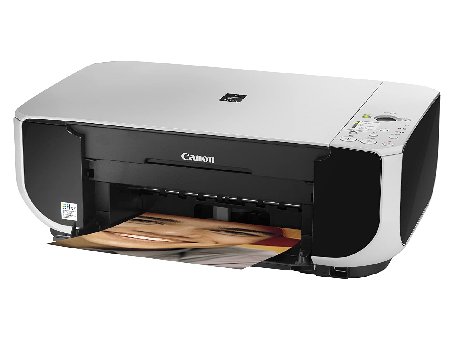 Canon Pixma MP210 - Impresora multifunción de Tinta Color ...