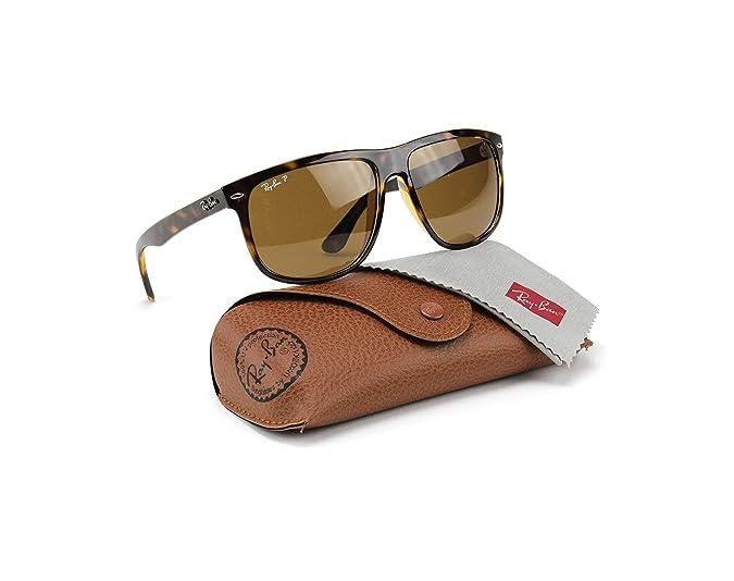 5604a9db7c Ray-Ban RB4147 710 57 Sunglasses Tortoise Frame   Polarized Brown Lens 60mm   Amazon.ca  Shoes   Handbags