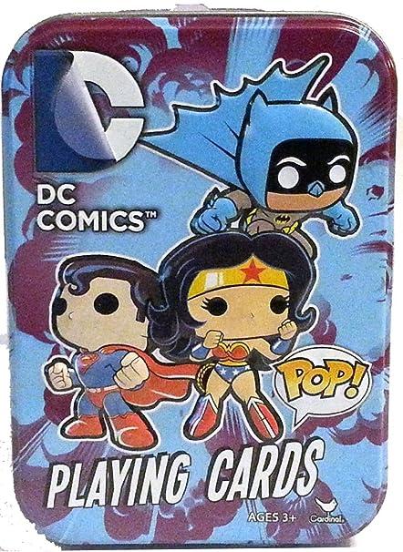 Amazon.com: NUEVO. DC Comics POP. Juego de cartas en ...