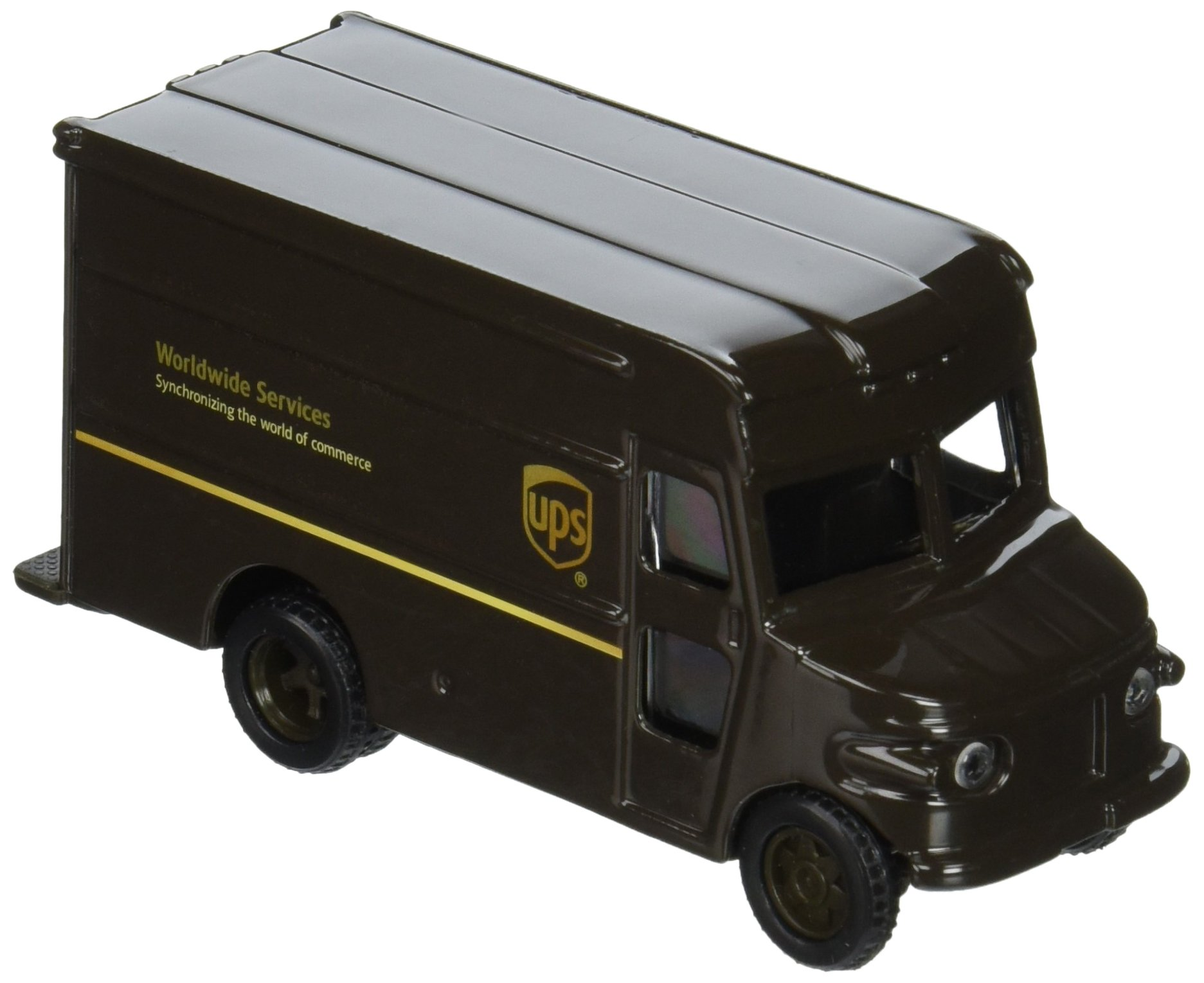 """UNITED PARCEL SERVICE UPS 4"""" P-600 Package Car Delivery Truck"""
