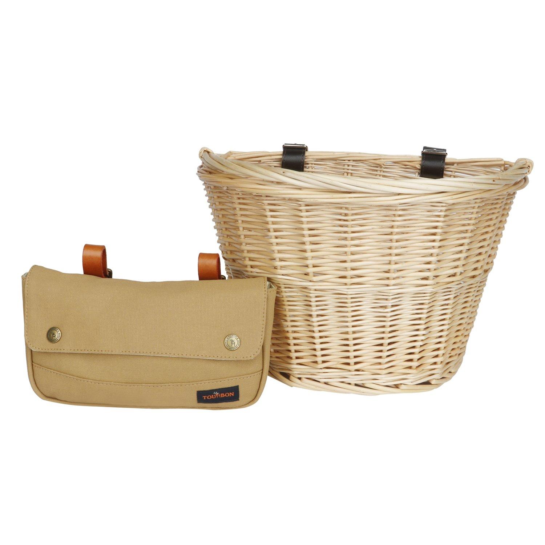 Tourbon Bike Basket and Bicycle Under Seat Saddle Bag Tourbon Safari Store