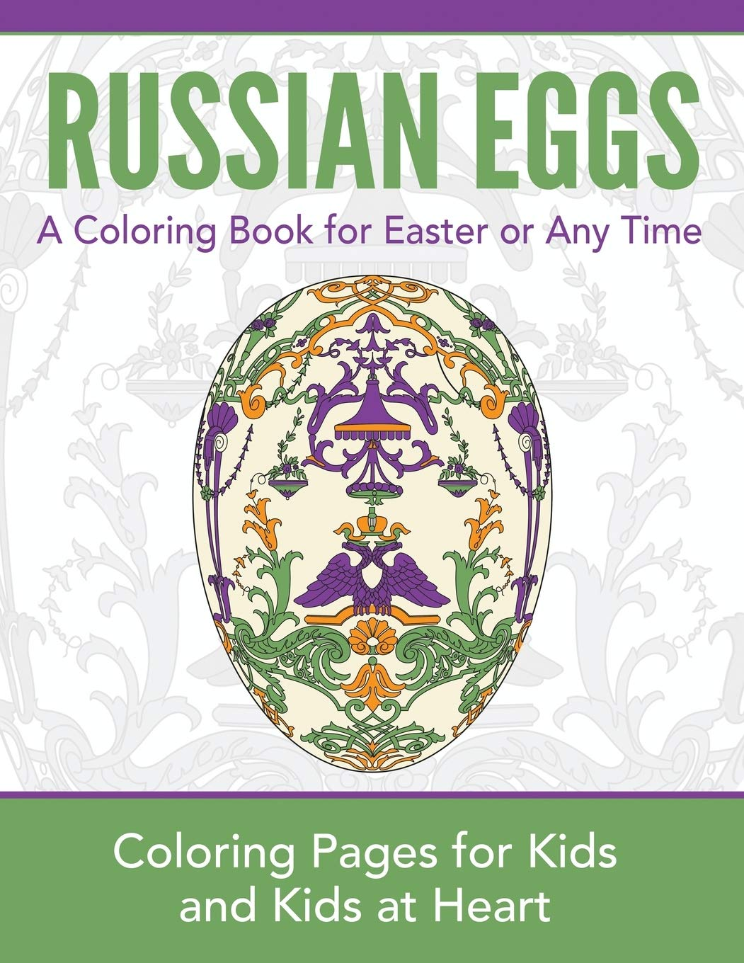Russian Eggs Coloring Pages for Kids and Kids at Heart Hands On ...