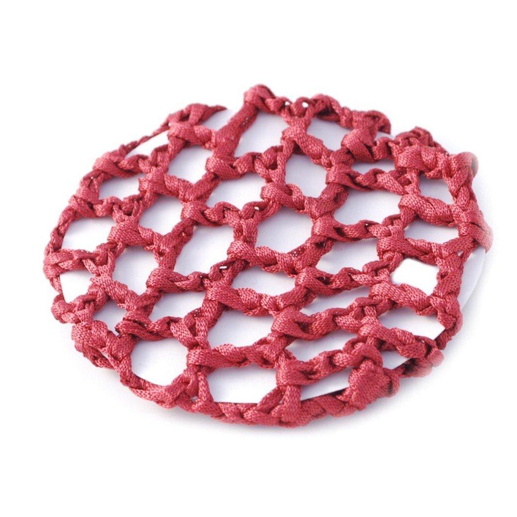 1 x Croched Ballet Hair Bun Cover Net