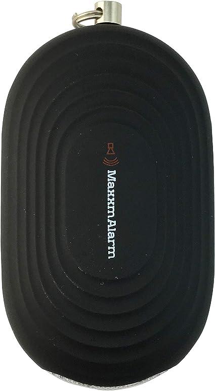 dispositivo di emergenza Safety /& Security Matte rubino iMaxAlarm Maxxm SOS avviso cellulare sicurezza personale pulsante di allarme//allarme panico Allarme 130dB LED
