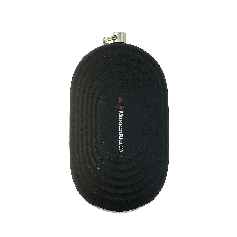 Negro Mate luz LED iMaxAlarm Maxxm SOS bot/ón de Alarma de p/ánico de Alarma//Alerta m/óvil de Seguridad Personal Dispositivo de Seguridad de Emergencia y Seguridad Alarma 130dB