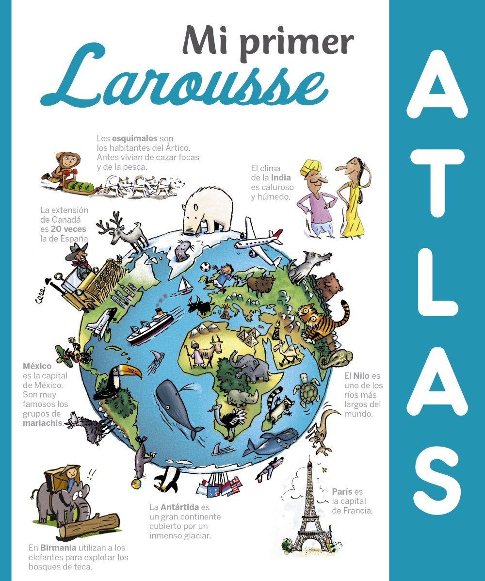 Mi primer Atlas Larousse: Amazon.es: Larousse Editorial, Domingo ...