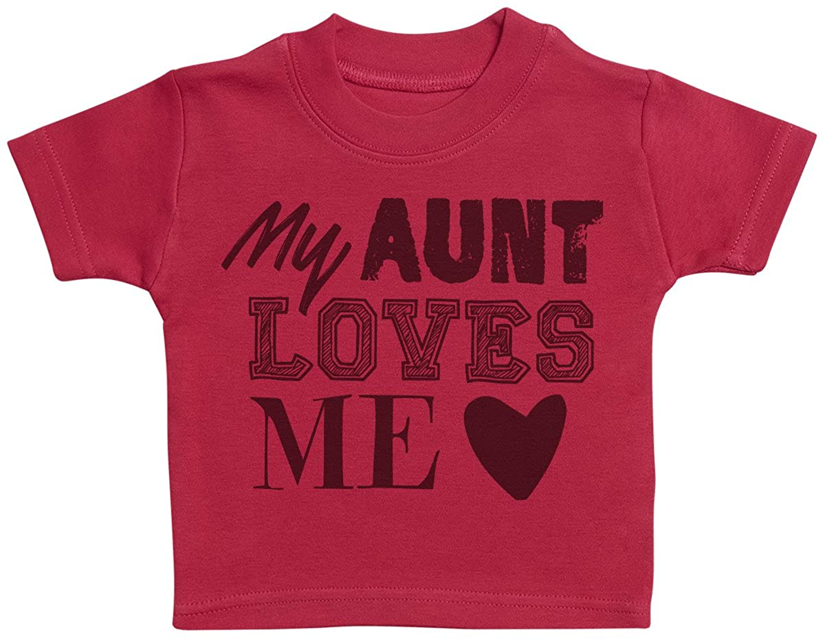 Zarlivia Clothing My Aunt Loves Me Baby T-Shirt - Baby Gift