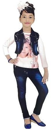 a0597802f43a Miss U Kids Girls High Quality Designer party wear Dresses Girls ...