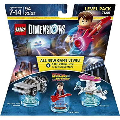 Lego Dimensions - Back to the Future Level Pack: Toys & Games