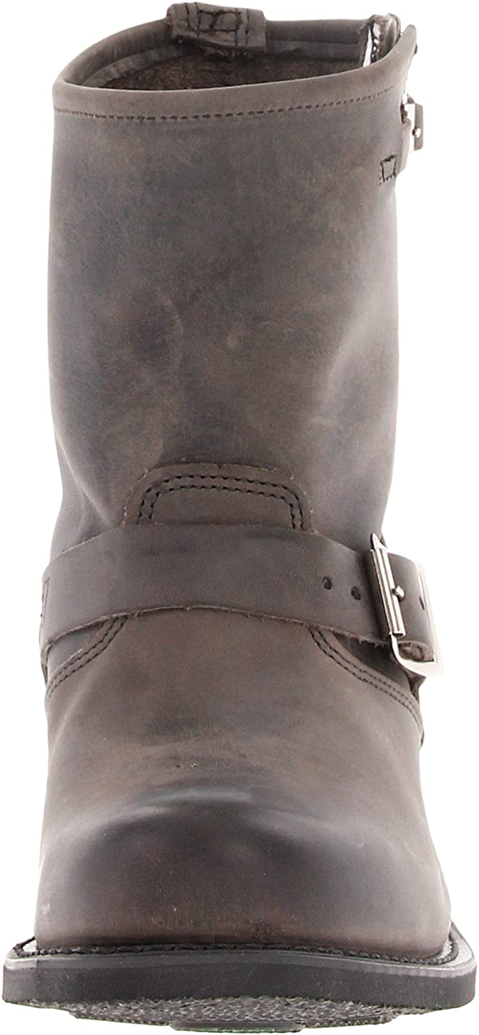 FRYE Women's 8R-Old TWN Engineer Boot B007D0G0Q8 7.5 B(M) US|Charcoal Old Town