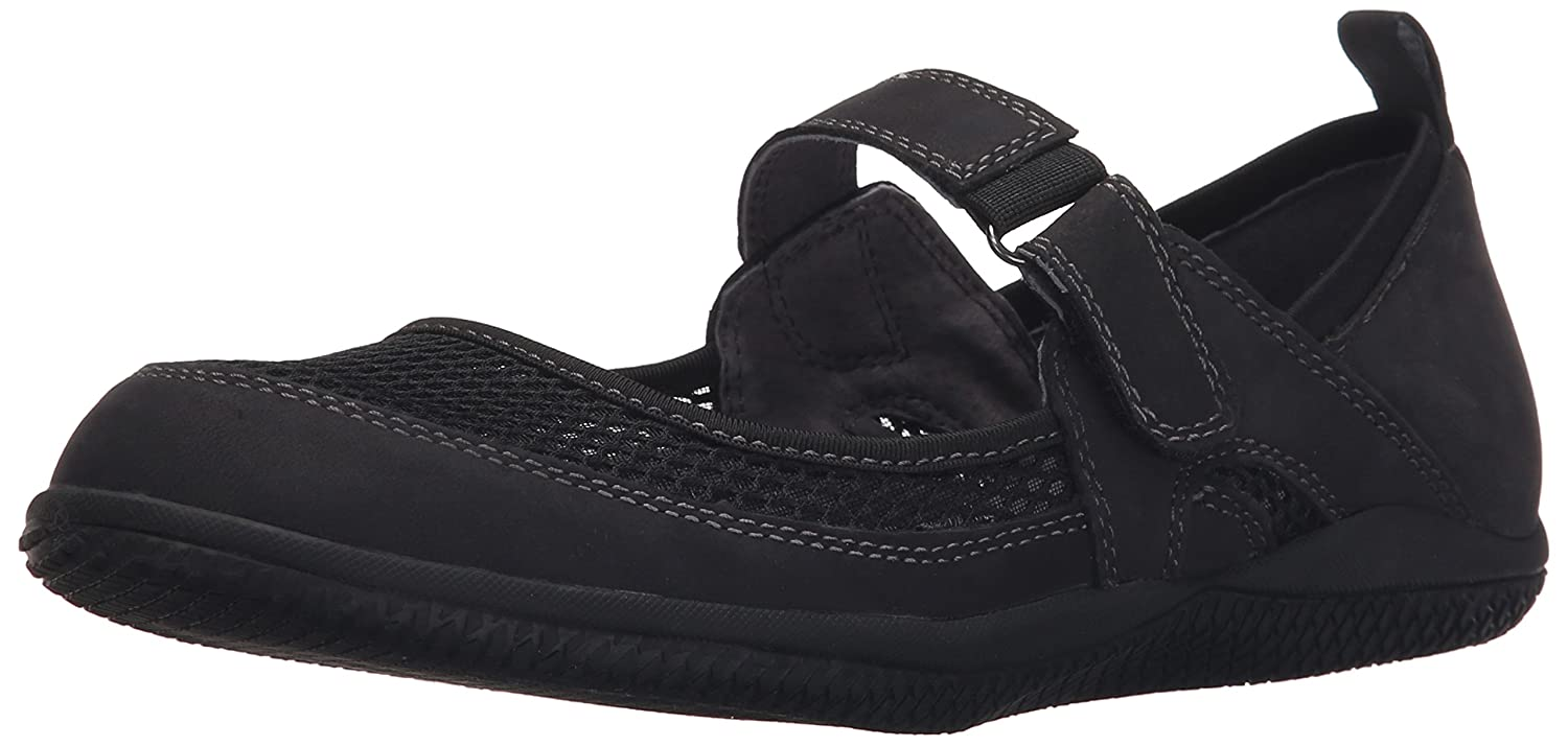 SoftWalk Women's Hadley Mary Jane Flat B011EXL76W 8.5 W US|Black