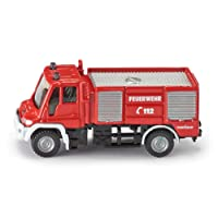 Siku  Mercedes Benz Fire Engine - 1:87 Scale,Vehicle