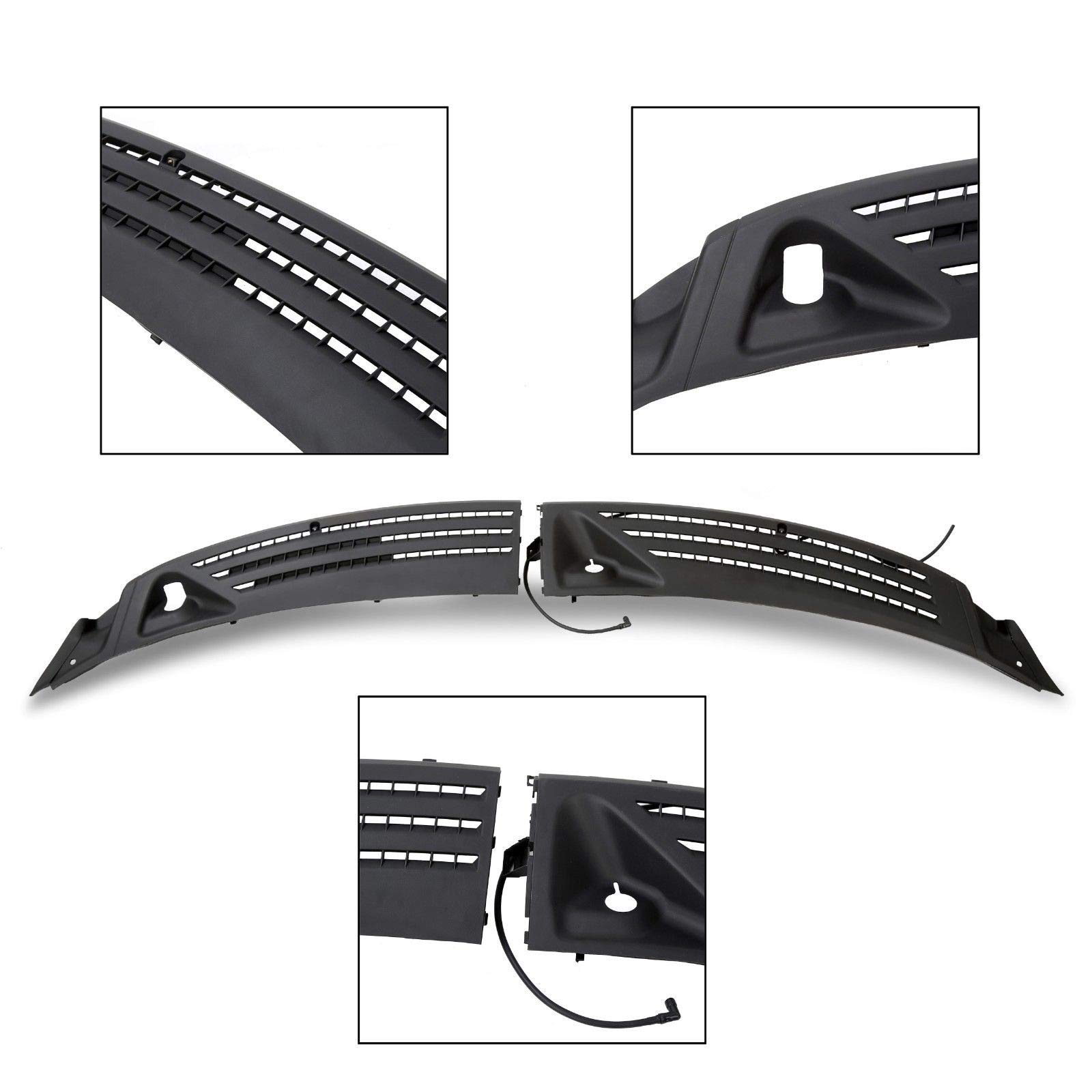 T-Foot Windshield Window Wiper Cowl Cover Panel Right Left for 2004-2008 Ford F-150