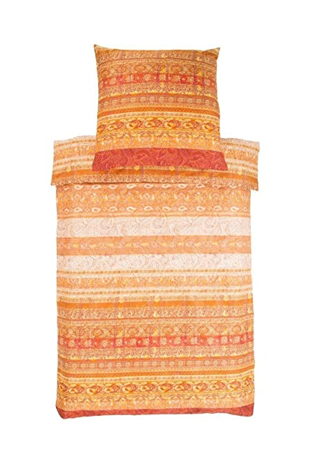 b76f19e6ec Bassetti 9284923 Pierma Rini V1 Satin Bed Linen, Multi-Colour, 200 x 135 x  0.5 cm: Amazon.co.uk: Kitchen & Home