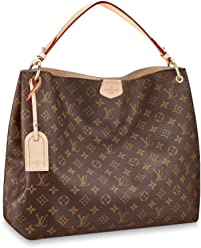 1bdb631824 Louis Vuitton Monogram Canvas Graceful MM Beige Article:M43704 Made in  France