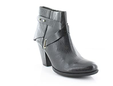 Womens Richardson Leather Closed Toe Ankle Fashion Boots