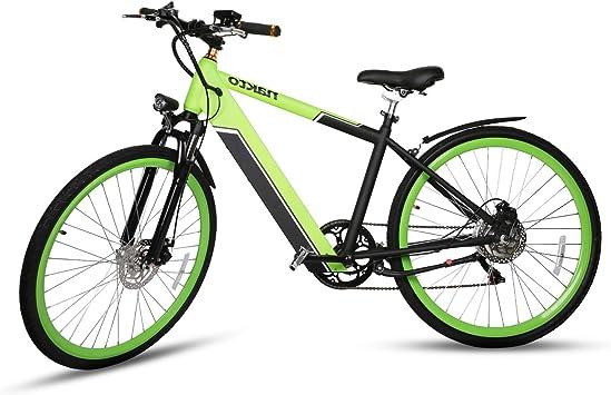 Nakto Bicicleta eléctrica de montaña 36 V/10 Ah batería de Litio ...