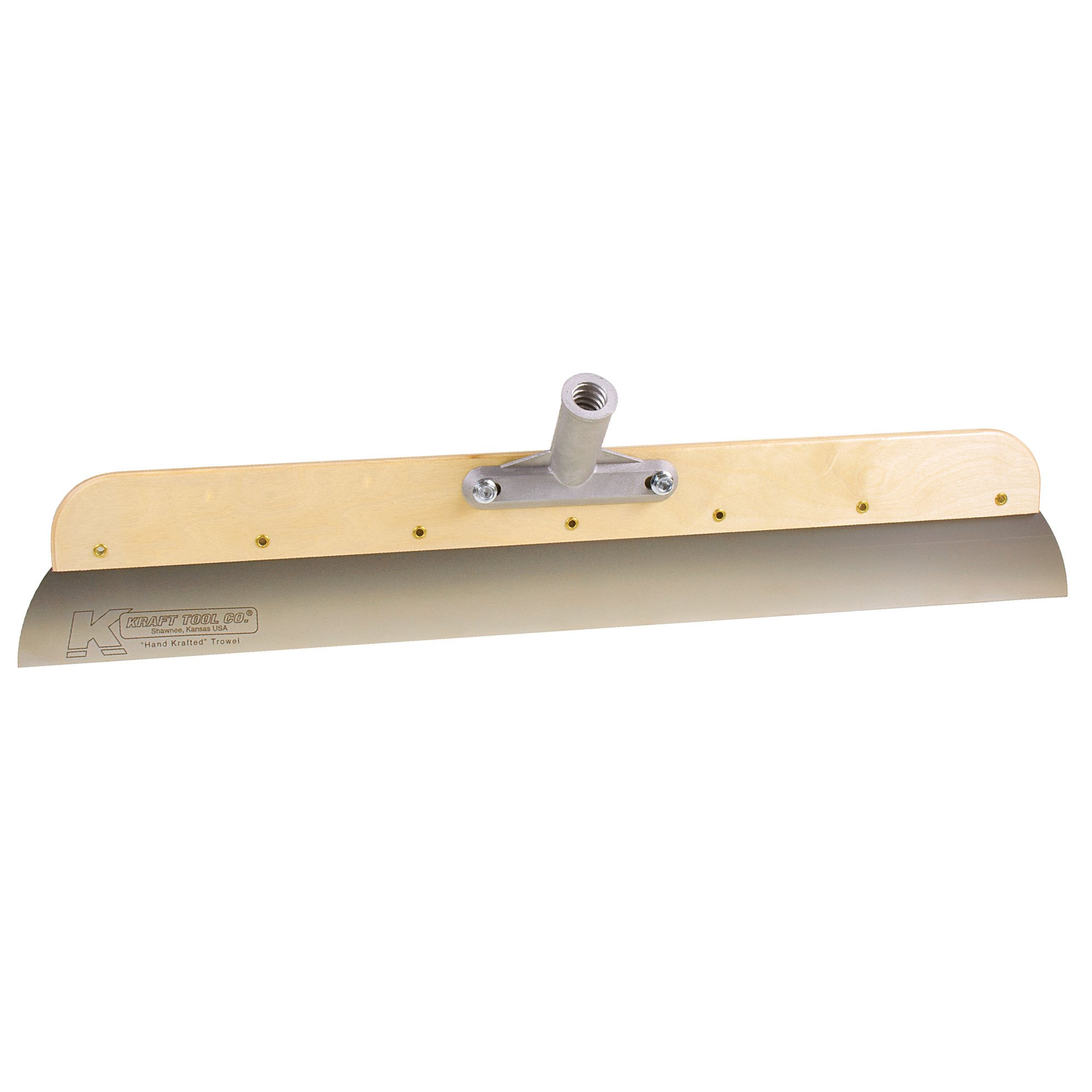 Kraft GG603 24-Inch Wood Frame SS Smoother with Adapter