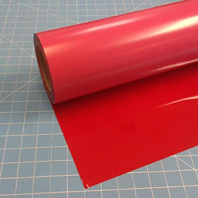 Siser Heat Transfer Red Vinyl Roll