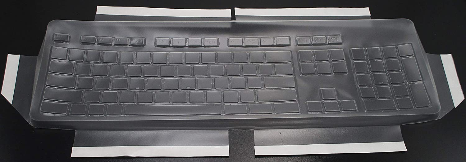 PROTECTCOVERS Keyboard Skin Cover for HP Business Slim Keyboard US Layout KU-1469. Perfect Fitting Cover for Permanent Protection.