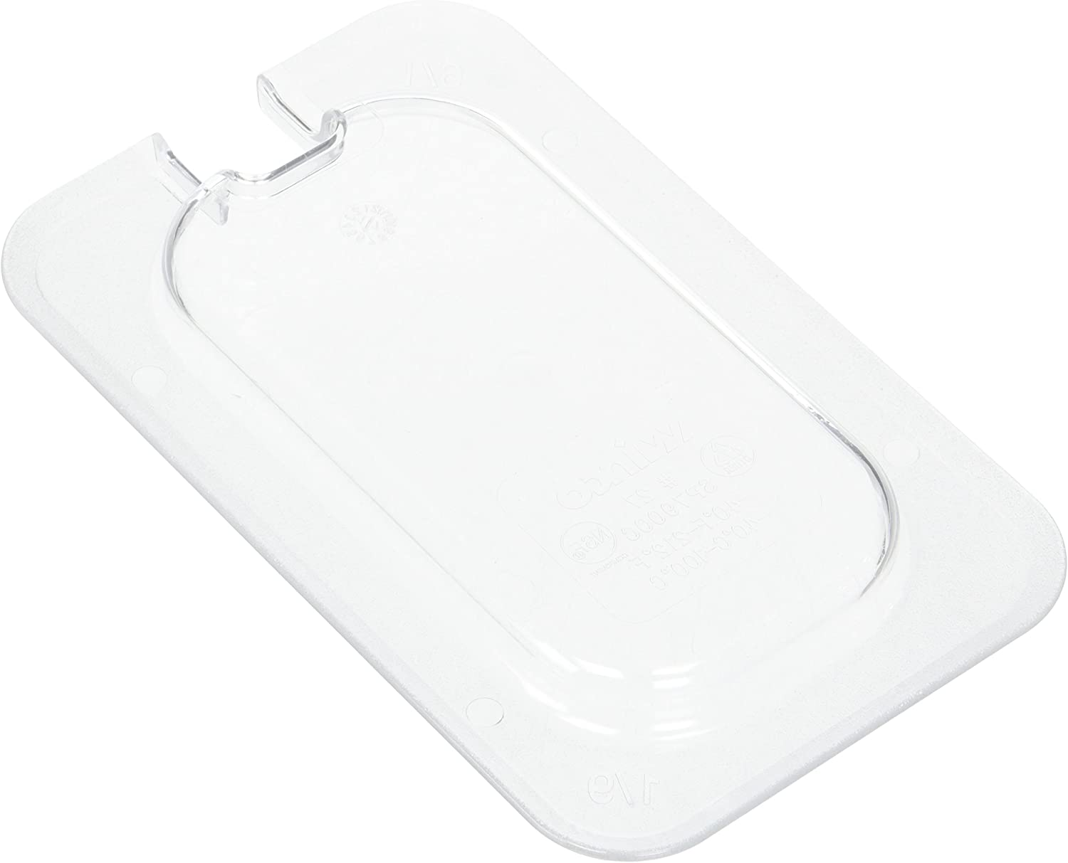 Winco 1/9 Pan, Slotted Cover