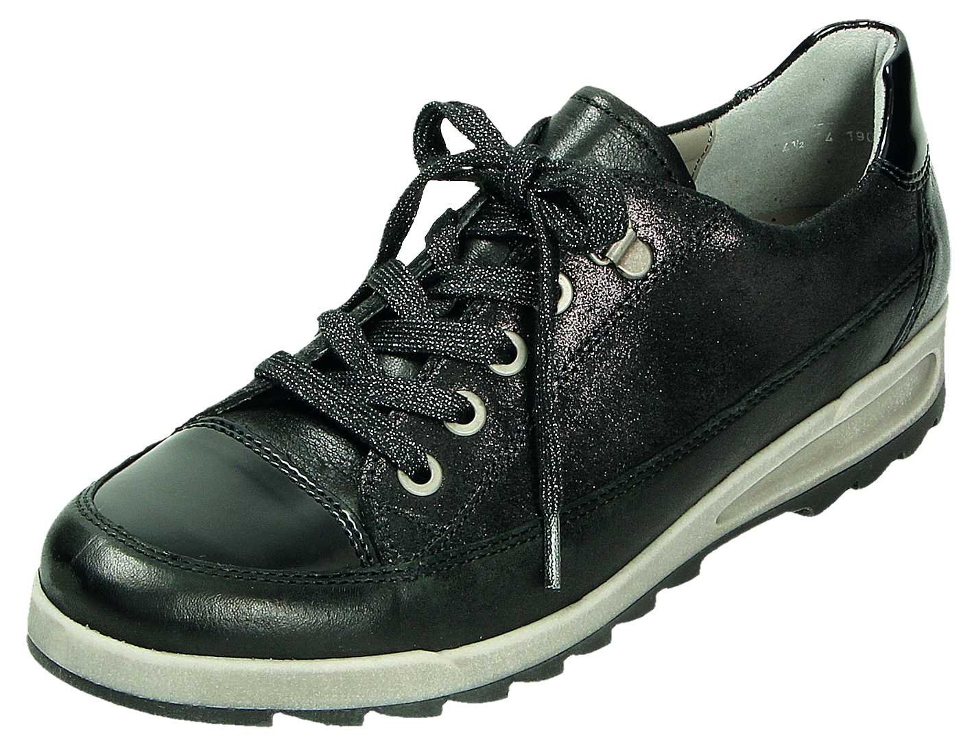 ara 12-44625-13 - Zapatos de cordones para mujer 37.5 EU|negro