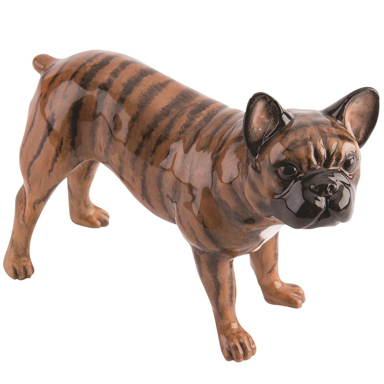 John Beswick coccolati cagnolini bulldog francese striato jbpp1bri