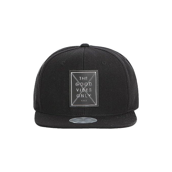 Premier X Flipper Good Vibes Snapback Baseball Cap Trucker Hat (Black) be1449b6fee
