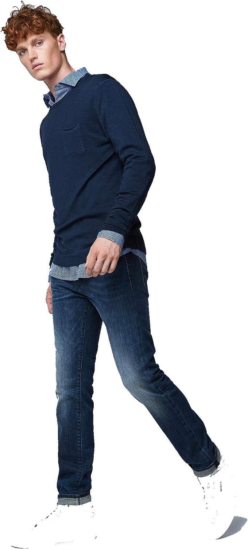 Gas Albert Simple wk16 Jeans Slim da Uomo Elasticizzati