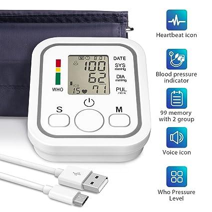 Sanitas SBM 21 – Tensiómetro de brazo, vollautomatische de presión arterial y pulso en la