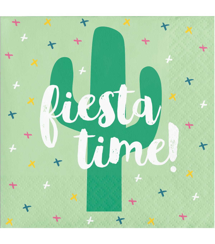 Cactus Fiesta Pack of 20 Paper Lunch Beverage Napkins Cacti