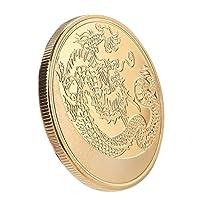 Dragon Challenge Monnaie chinoise de collection Collection Business et des cadeaux de décoration de vacances