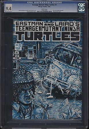 Amazon.com: Teenage Mutant Ninja Turtles #3 CGC 9.4 WP Pin ...