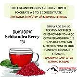 Schisandra Powder - 5:1 Organic Concentrate
